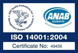 ISO-14001, accreditation mark