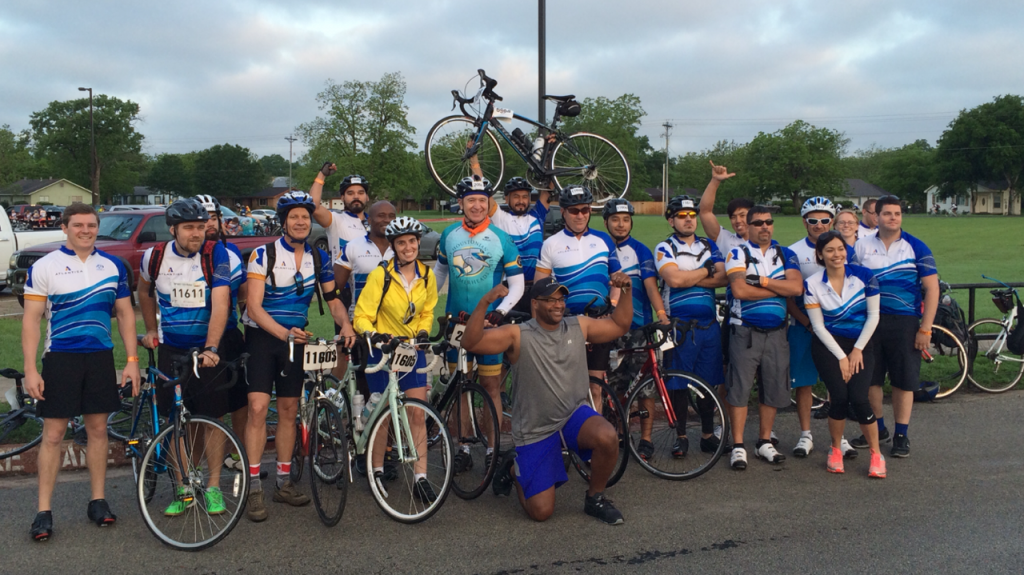 2015-04, MS 150 group photo
